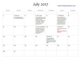 July 2017 Events Yingying Zhang case